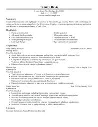 Sample Job Resume Examples Simple Resume Example For Jobs ...