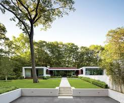 Architecture houses glass Floor Plan Stirratt Razed Their Nondescript Midcentury Home In New Canaan Connecticut And Tapped Scott Specht Of Specht Harpman Architects To Create New One Architectural Digest Glass House Design Photos Architectural Digest
