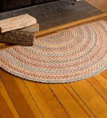 braided rugs round area inexpensive roselawnlutheran dining room primitive rag oval american made whole square rectangular