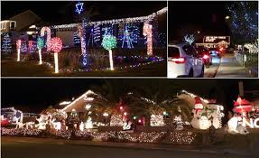 "Candy Cane Lane Decorations Block party tonight on Lancaster's ""Candy Cane Lane"" 13"