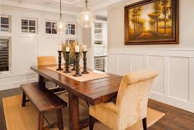 Dining Room Wainscoting Ideas Dining Room Chair Rail Wainscoting Innovative Dining Room