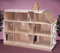 Doll House Plan For Barbie Admirable Wooden Houses Patterns Bing