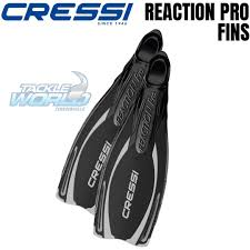 Cressi Reaction Fins Size Chart Cressi Reaction Pro Fins
