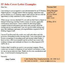 It Position Cover Letter 19 Job Sample Format For Application
