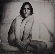 Tintype Portraits Of Genderqueer Individuals Are The Nude Artworks.
