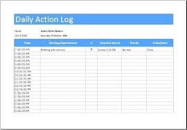 3 Day Food Diary Template Daily Action Log Sheet Download At