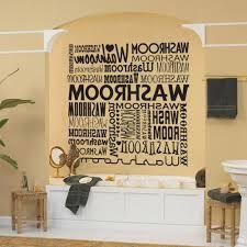 diy bathroom wall decor. Full Image Bathroom Wall Art Ideas Grey White Brown Color Scheme Black Colors Soaking Bathtub Iron Diy Decor