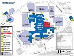 Medical Center Map Driving Directions Saint Francis