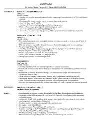 Bookkeeper Resume Samples Velvet Jobs
