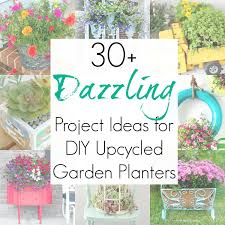 30 upcycling ideas for garden planters garden pots