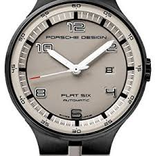 watches outlet archives pvd coatings porsche design flat six automatic black pvd steel mens watch calendar grey dial 6350 43 94 1255