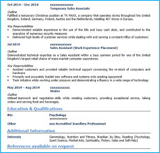 Sample Resume For Retail Sales Assistant Retail Sales
