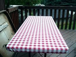fitted picnic tablecloth plastic table cloth elastic tablecloths vinyl for 60 inch round plas