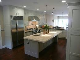 dark floors light cabinets idea rooms decor and ideas grey kitchen cabinets with light wood