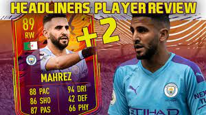 INSANE UPGRADE! 89 HEADLINERS MAHREZ PLAYER REVIEW! FIFA 21 ULTIMATE TEAM -  YouTube