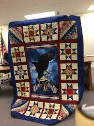 April | 2017 | hofquiltguild & Joan Harrison made this beautiful Veteran quilt. Adamdwight.com