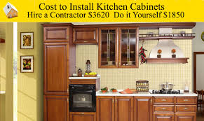 Diy Kitchen Cabinets Edmonton Kitchen How To Install A Kitchen Cabinet On The Wall How To