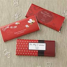 Personalized Candy Bar Wrappers - Be My Valentine