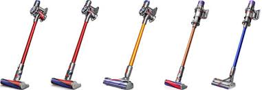 Dyson Stick Vacuum Comparison Chart Dyson V6 Vs V7 Vs V8 Vs V10 Vs V11 Cordless Vacuums Models