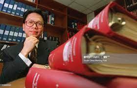 Desmond Yeung of Deloittes. Photo by Gareth Jones. 28 Jul 95 News Photo -  Getty Images