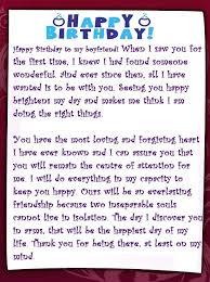 best romantic birthday letter for boyfriend love letter sample 5