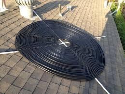 diy solar pool heater black hose