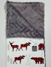 boy buffalo plaid baby blanket baby boy blanket boy adventure blanket boy buffalo plaid baby bedding red and black bed ready to ship