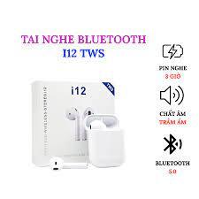 Tai Nghe Bluetooth Không Dây i12 TWS phù hợp với Iphone/Android/Laptop giá  cạnh tranh