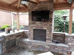 are you interested in mounting tv above fireplace. Imposing Decoration Outdoor Fireplace With Tv Exciting Granite Countertops Kitchens And Fireplaces On Pinterest Are You Interested In Mounting Above