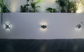 Outdoor Inset Wall Lights Recessed Wall Light Fixture Led Round Outdoor Marine