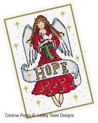 Angel Cross Stitch Patterns Amazing Lesley Teare Designs Christmas Angel Cards Cross Stitch Pattern