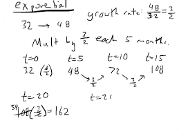 lesson 5 8b exponential growth without a calculator