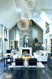 chandelier height living room exquisite decoration