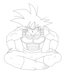 Small Picture Coloring Pages Goku