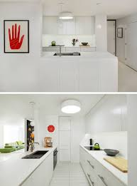 kitchensmall white modern kitchen. Kitchen Design Ideas - White, Modern And Minimalist Cabinets // The White Cabinetry In Kitchensmall I
