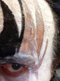 gene simmons on twitter puttin on the makeup right before edmonton canada show t co inzg9mbnn3