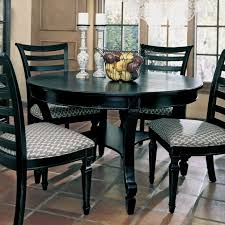 permalink to black round kitchen table and chairs