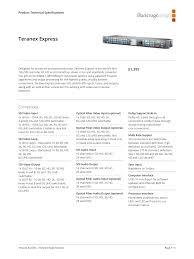 Blackmagic Design Teranex Av Blackmagic Design Teranex Standards Manualzz Com