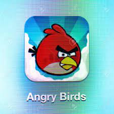 Angry Birds Icon App On The IPad 3. Angry Birds Is A Successful.. Stock  Photo, Picture And Royalty Free Image. Image 16532274.