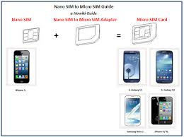 nexus 4 sim card size move a sim card between samsung galaxy s3 s4 or note 2 and iphone 3