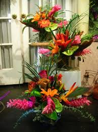 Incredible Tropical Wedding Flower Arrangements 1000 Ideas About Tropical  Wedding Centerpieces On Pinterest