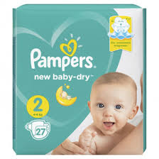 Купить <b>PAMPERS подгузники NEW</b> BABY 2 MINI 27шт (3-6кг ...