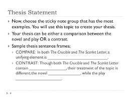 how to write a literary essay ppt 6 thesis