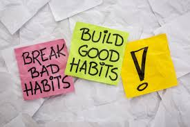 how to break a bad habit and replace it a good one changing bad habits essay