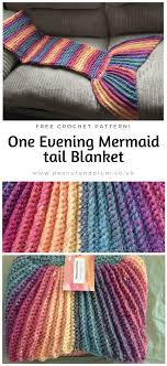 Free Crochet Mermaid Blanket Pattern Awesome Decorating Design