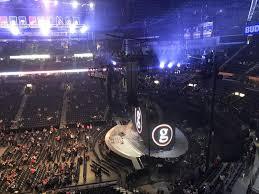 Garth Brooks Bridgestone Arena Seating Chart Bridgestone Arena Section 311 Row A Seat 8 Garth Brooks