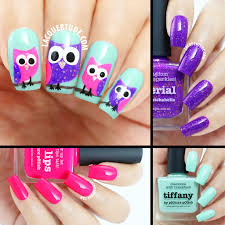 piCture pOlish Swatches & Owl Nail Art feat. Tiffany, Imperial ...