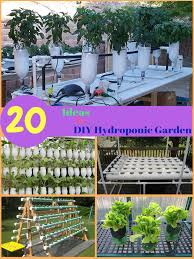20 incredible ideas for diy hydroponic garden