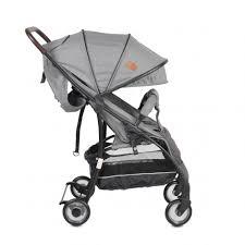 Лятната количка е чудесна алтернатива на обикновеното детско превозно средство с маневреност, ниско тегло и лекота на работа. Detska Lyatna Kolichka Cangaroo London Siv Raya Toys