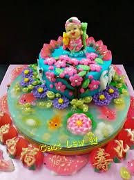 Jelly Birthday Cake Design Longevity Cake Cake Jelly Cake Desserts